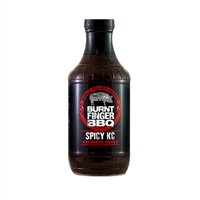 Burnt Finger BBQ Smokey KC Barbecue Sauce - 19.7 oz.