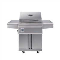 Memphis Beale Street Grill Cart with WiFi - Stainless Steel