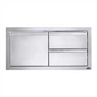 "36"" X 16"" Single Door & Double Drawer Combo"