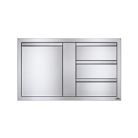 "Napoleon Large Single Door & Triple Drawer Combo 42"" x 24"""