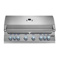 "Napoleon Built-In 700 Series 44"" Gas Grill with Dual Infrared Rear Burners"