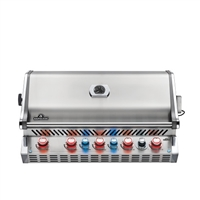 Napoleon Prestige PRO 665 Built-In Grill with Infrared Rear Burner