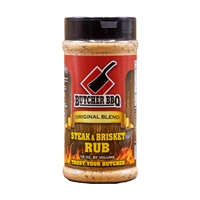 Butcher BBQ Steak & Brisket Rub - 12 oz.