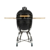 Coyote Asado Smoker with Stand and Side Shelves