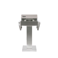 Coyote Single Burner 120V Electric Grill on Cart