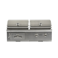 "Coyote 50"" Built-In Hybrid Gas & Charcoal Grill"