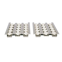 "Coyote 28"" Ceramic Heat Control Grid Briquettes (2 pc set)"