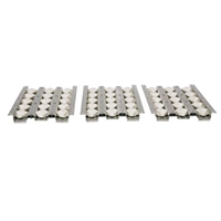"Coyote 34"" Ceramic Heat Control Grid Briquettes (3 pc set)"