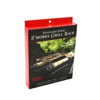 Charcoal Companion Stainless S'mores Roasting Rack