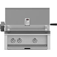 "Aspire By Hestan 30"" Built-In Grill with Rotisserie"