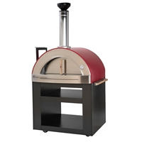 Forno Venetzia Torino 300 Wood Fired Oven - Red