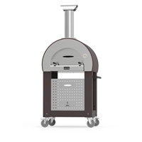 Alfa Pizza 5 Minuti Wood Fired Oven Cart Bundle