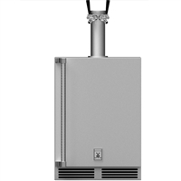 Hestan 24-in Outdoor Double Faucet Beer Dispenser