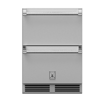 Hestan 24-in Outdoor Refrigerator Drawers
