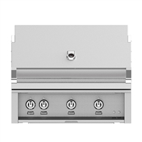 Hestan 36-in Outdoor Built-In Grill with Rotisserie Kit