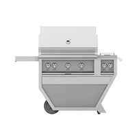 Hestan 36-in Outdoor Deluxe Grill with Rotisserie Kit