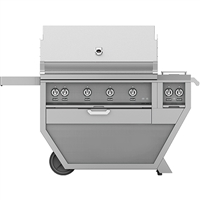Hestan 42-in Outdoor Deluxe Grill with Rotisserie Kit