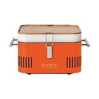 Everdure Cube Orange Charcoal Grill
