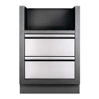 Napoleon Oasis Under Grill Cabinet for Built-in 700 Series Dual Burners