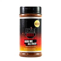 Phil the Grill Rub Me All Over - 9.9 oz.