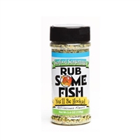 Rub Some Fish BBQ Seasoning - 5.6 oz.
