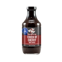 Three Little Pigs Touch of Cherry BBQ Sauce - 20.4 oz.