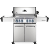 Napoleon Prestige 500 Gas Grill with Infrared Side and Rear Burners in Stainless Steel