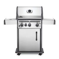 Napoleon Rogue XT 425 Stainless Steel Gas Grill with Infrared Side Burner