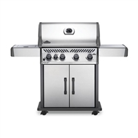 Napoleon Rogue XT 525 Stainless Steel Gas Grill with Infrared Side Burner