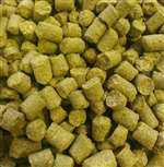 Green Bullet (NZ) hop pellets