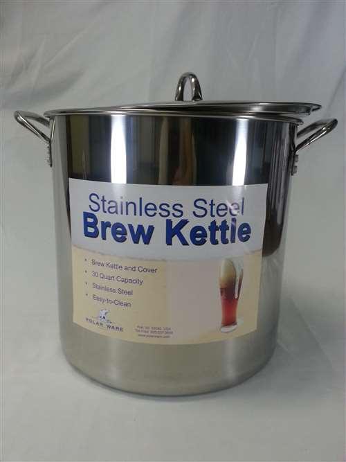 30 Quart 75g Stainless Steel Brewing Pot
