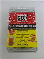 16 gram disposable CO2 cartridges (6 pack)