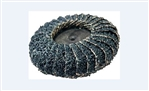 Roll-on Curved Zirconia Flap Disc