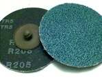 "2"" Zirconia Roll-on Sanding Disc - Made in USA"