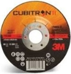 "3Mâ""¢ Cubitronâ""¢ II 4.5"" Depressed Center Grinding Wheels"