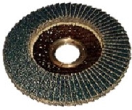 "4.5"" Premier Grind V-Plus Zirconia Flap Discs - German Made"