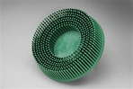 "3Mâ""¢ Scotch-Briteâ""¢ Rolocâ""¢ 3"" x 50 Grit Green Bristle Disc"
