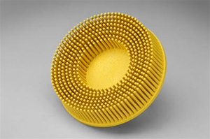 "3Mâ""¢ Scotch-Briteâ""¢ Rolocâ""¢ 3"" x 80 Grit Yellow Bristle Disc"
