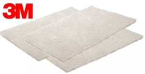 "3M 7445 Scotch Brite Pads 6"" x 9"" White Lowest Price"
