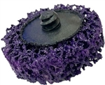 "2"" & 3"" Stripping Disc (purple/silicon carbide)"