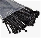 "8"" Cable Tie: 18 lb - 100 pack"