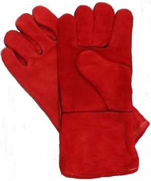 All Leather Welding Gloves 14""