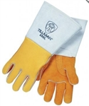 Premium top-grain elkskin; Tillman 850 Stick Welders Gloves, Glove - Roark Supply