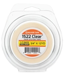 "Walker Tape 1522 Clear 3/4"" X 12 Yrd Role"