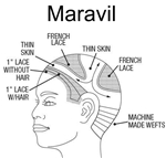 Maravil ethnic Hair System