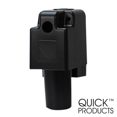 Quick Products JQ-RHB Plastic Replacement Housing for 3500 Series Electric Tongue Jack (Black)