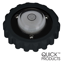Quick Products JQ-RLB Replacement Bubble Level Cap for Electric Tongue Jack (Black)