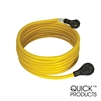 Quick Products QP-30-25FH 30 Amp RV Cord - Grip Handle Plug, 25'