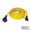 Quick Products QP-30-50FH 30 Amp RV Cord - Grip Handle Plug, 50'