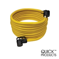 Quick Products QP-50-36FH 50 Amp RV Cord - Grip Handle Plug, 36'